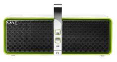 Hercules WAE-BTP05 Wireless Bluetooth Speaker (White/Green) for sale