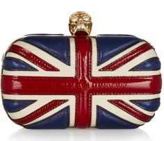 Union Jack clutch available in our Pacific Beach store only!