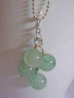 Recycled and Repurposed Cascading Jade Green by ThatGirlsDesigns, $10.00