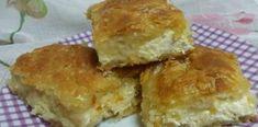 Τυρόπιτα με φύλλο κρούστας και ο τρόπος να μοιάζει σαν χειροποίητο ! Spanakopita, Greek Recipes, Cornbread, Feta, Kai, Muffin, Food And Drink, Healthy Recipes, Cheese