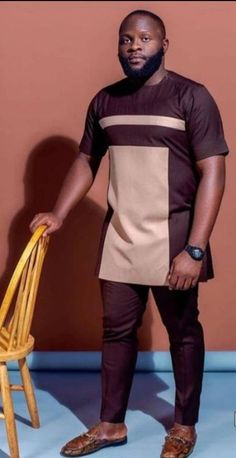 Men Fashion Photo, Mens Fashion, Two Piece Sets, Two Pieces, Nigerian Men Fashion, Man Dressing Style, African Men, Kurta Designs, Cashmere Wool