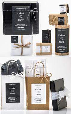 Black, White & Kraft for Classic Packaging | http://www.nashvillewrapscommunity.com/blog/2013/04/black-white-kraft-for-classic-packaging/