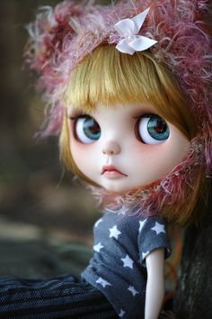 Custom Blythe Doll by chaoskatenkosmos on Etsy