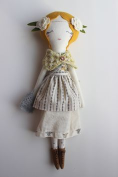 Dolls Sweet-Tempered Tilda In Boho Chic Style Doll Rag Doll Soft Toy Kids Room Vintage Style