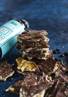 Coffee Toffee Crackers