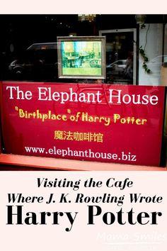 Visiting the Elephant Cafe Where J.K. Rowling WroteHarry Potter #harrypotter #edinburgh #visitedingburth #harrypotterfans #scotland #visitscotland