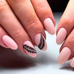 Beautiful Nude Matte Nails 1