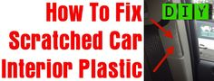 Is the interior of your cars plastic scratched? Having scratches on the interior plastic or vinyl of your car can be ugly. Especially if you are going to be selling it. Many times by moving things in and out of your car, scratching of the plastic interior can occur. There are different methods to repairing …