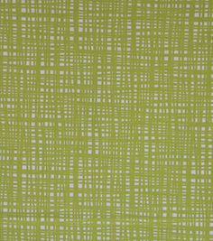 """Home Essentials Print Fabric 45""""-Crossed Lime"""