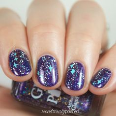 Glam Polish - Darkly Dreaming: Swatches, Review