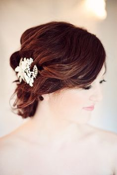 "These hand-picked gorgeous wedding hairstyles will make a major ""wow"" statement for your big day! Take a look and happy pinning!"