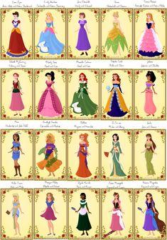 disney princesses names - Google Search | Disney princess ...