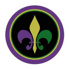 Mardi Gras Coin Poker Chips