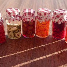 Reallistic Dollhouse miniature jars of jam 1:12 #miniature #miniatures #miniaturejam #minis #miniaturejar #mini #doll #dollhouse #dollhouseminiature #dollhouseminiatures #dollhouses