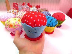 Cupcake İğne Yastıkları- Ücretsiz Kargo