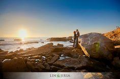 Heisler Park Engagement | Andrew & Mona