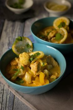 Low Carb Blumenkohl Curry mit Putenfleisch