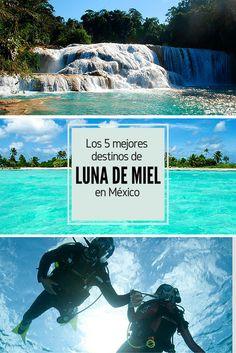 Descubre los 5 Mejores Destinos de Luna de Miel en México.