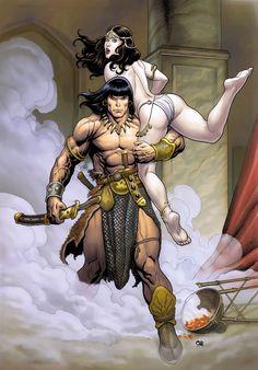 Conan the Barbarian by Frank Cho