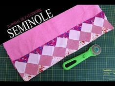 YouTube Tutorial Patchwork, Seminole Patchwork, Quilt Border, Mug Rugs, Quilt Blocks, Needlework, Diy And Crafts, I Am Awesome, Projects To Try
