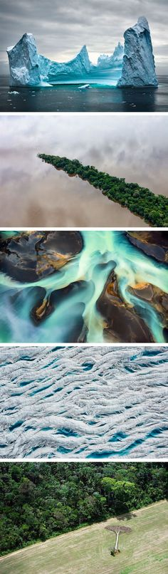 Dramatic Aerial Landscape Photos of Our Impact on Nature Captured by Daniel Beltrá