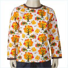 """JNY Shirt """"Autumn"""" orange - LolaKids"""