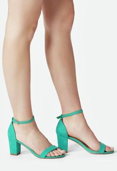 A feminine and trendy heeled sandal with a comfy block heel for easy all day wear. Now available in wide width....