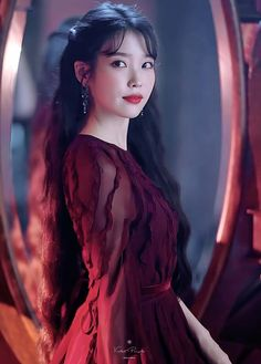 Hotel Del Luna is a series that has featured amazing jaw dropping fashion. All worn by the hotel's CEO Jang Man-wol. Read about Man-Wol Outfits here. Cute Korean, Korean Girl, Asian Girl, Kdrama, Luna Fashion, Moon Lovers, Korean Celebrities, Sweet Style, Korean Actresses