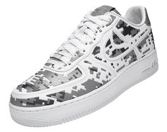 NIKE AIR FORCE 1 PREMIUM '08 – XXX Anniversary – High-Frequency Digital Camouflage| The Hype BR