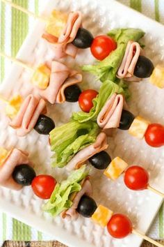 Best Foods For A Picnic Kabobs