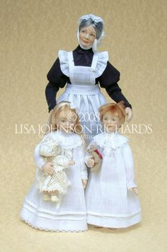Lisa Johnson-Richards, Miniature Doll Artist & Couturiere www.lisajohnsonrichards.com/blog
