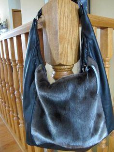 Inuit made sealskin purse by Helen Navalik Blewett