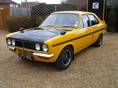 Hillman Avenger Tiger – a guilty pleasure, a wonderful guilty pleasure. Fiat 850, Dodge 1500, Ford Classic Cars, Commercial Vehicle, Rally Car, Old Skool, Old Cars, Motor Car, Vintage Cars
