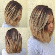 I love this bob and the color.