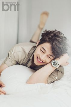 Kim Jae Won - bnt International August 2014 Maturity and marriage definitely agree with him.