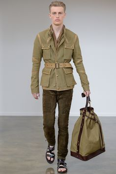 Belstaff Spring 2013 Menswear - Collection - Gallery - Style.com