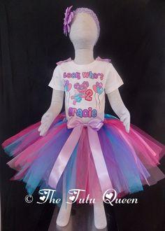 Abby Cadabby Birthday Outfit - 3 PIECE SET - Tutu, Shirt/Onesie, Headband. $28.99, via Etsy.