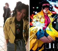 X-MEN: APOCALYPSE -  #LanaCondor as Jubilation Lee / #Jubilee #XMenApocalypse #XMen #Marvel