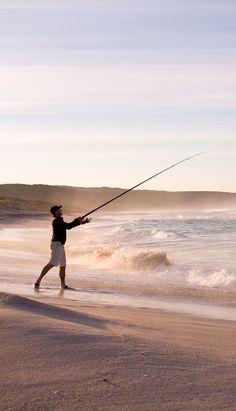 Am Strand der Southern Ocean Lodge auf der Känguru-Insel/Australien. Das Strand-Resort ist das zweitbeste der Welt. Hier geht es zu den Top 8: http://www.travelbook.de/welt/Neues-Ranking-Die-besten-Strand-Resorts-der-Welt-597823.html