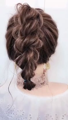 # Braids videos frisuren Hairstyle for short hair Easy Hairstyles For Long Hair, Twist Hairstyles, Natural Hairstyles, Hairstyle Short, Locks Hairstyle, Celebrity Hairstyles, Curly Hair Easy Updo, Short Hairdos For Wedding, Curly Hair Updo Wedding