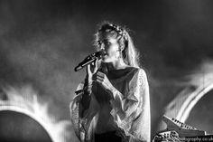 Hannah Reid, London Grammar, Glastonbury Festival 2017