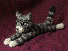 Ravelry: Crochet kitty cat pattern, by Sonja van der Wijk. Crochet.