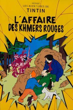 Les Aventures de Tintin - Album Imaginaire - L'Affaire des Khmers Rouges