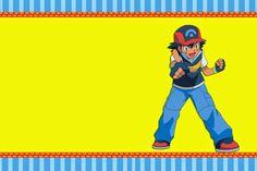 invitaciones de pokemon para imprimir 6