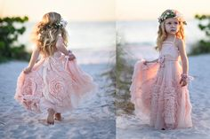 A Beautiful Mess Frock with heavily gather swirls for all the girls that love to twirl | Dollcake