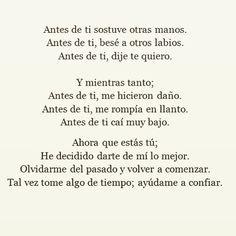 〽️ Antes de ti...
