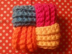 Puzzle Ball Tawashi crochet