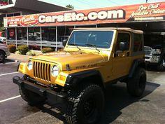 2003 Jeep Wrangler Rubicon.