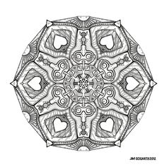Mandala hand drawing 48 by Mandala-Jim.deviantart.com on @DeviantArt