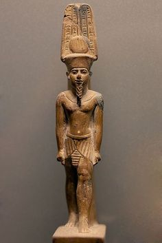 King of the gods, he is the lord of the temples of #Karnak and #Luxor. #Egypt